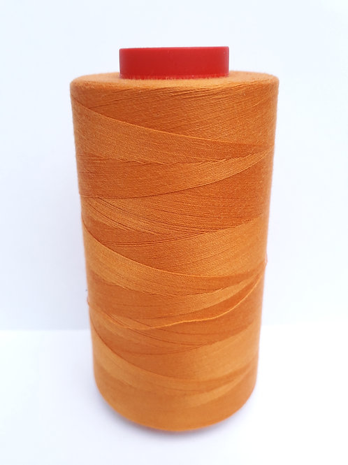 Rusty Orange-Overlocker thread 5000m