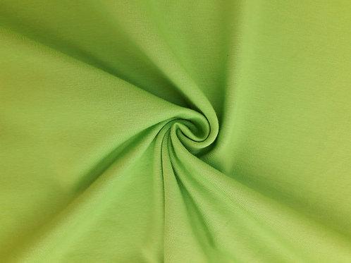 Lime green 95/5 Cotton Elastane