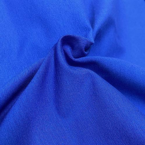 Royal blue Cotton Elastane - PRE-WASHED