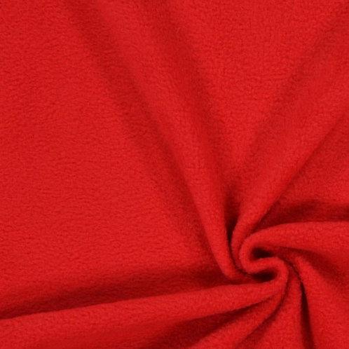 Red Anti pill fleece