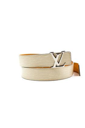 Louis Vuitton Epi Leather Logo Belt