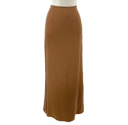 Carmen Marc Valvo Satin Skirt