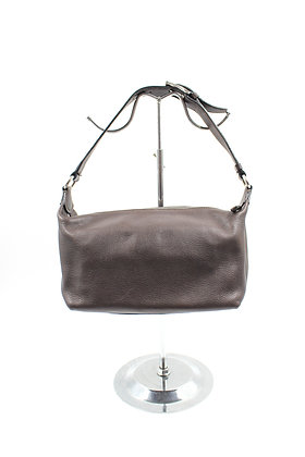 Celine Pebbled Leather Shoulder Bag