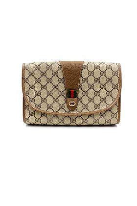 Gucci Vintage GG Clutch