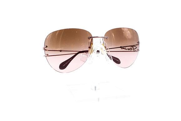 Fendi Cursive Logo Tint Sunglasses