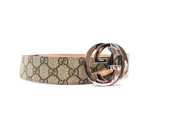 Gucci Supreme Interlocking GG Belt