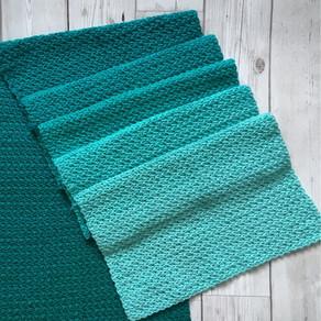 Spring Leaves Scarf Free Crochet Pattern
