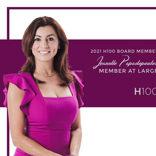 Member at large - Jeannette Papadopoulos