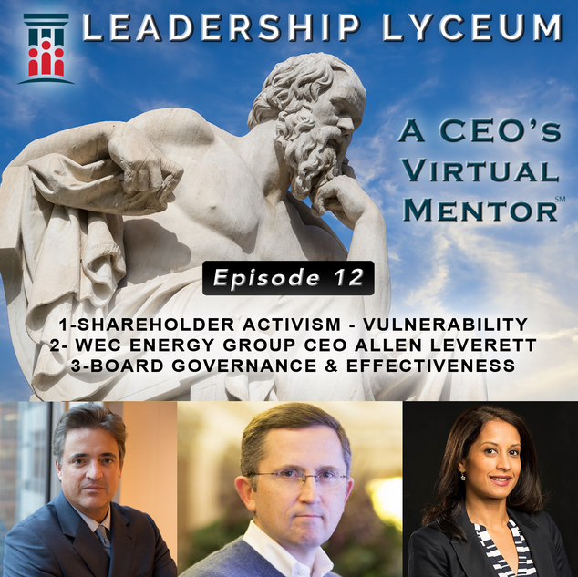 Shareholder Activism and Board Governance and Effectiveness