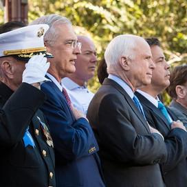 Turnarounds, Veterans, and a Tribute to Senator John McCain
