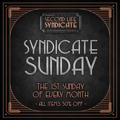 Sundicate Sunday Poster