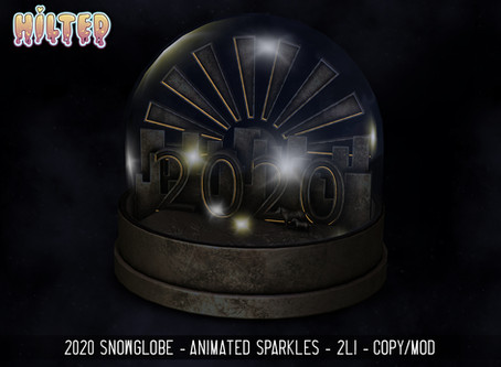 HILTED - 2020 Snowglobe - New Release