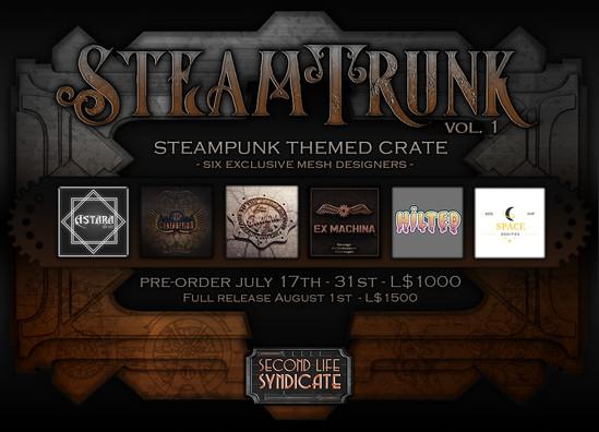 SteamTrunk Poster
