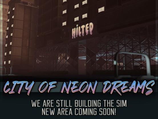 City of Neon Dreams Poster