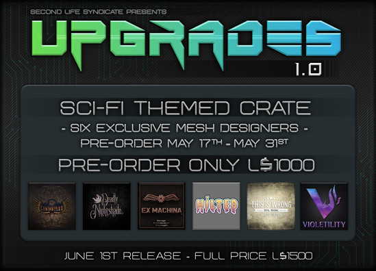 Upgrades Poster
