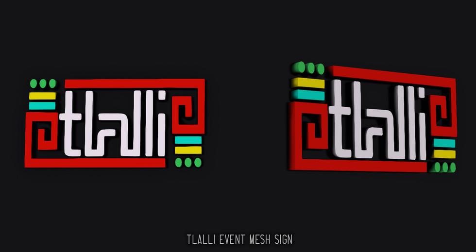 TLALLI Mesh logo