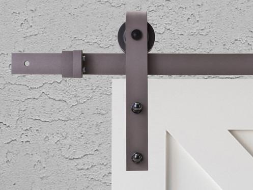 Swd11 Bronze Black Sliding Door Hardware Set