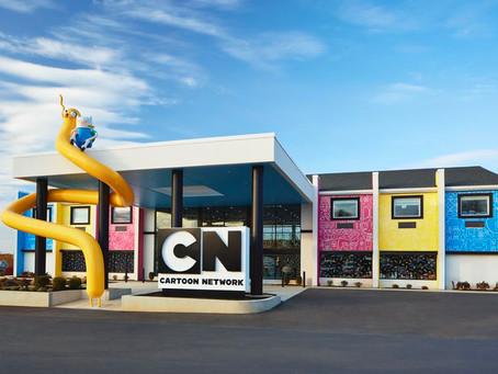 Отель по мотивам мультфильмов Cartoon Network открылся в Пенсильвании