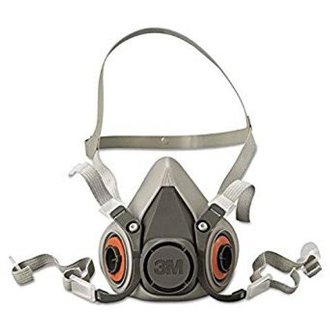 3M Half Face Respirator 6100,6200,6300
