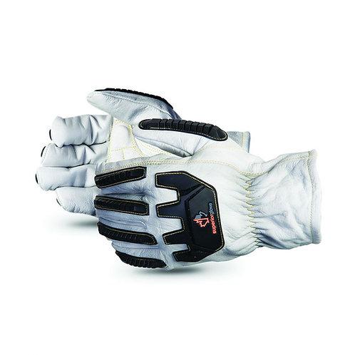 Endura® 378GKGVBE Goatskin Kevlar®-Lined Impact-Resistant Driver Gloves