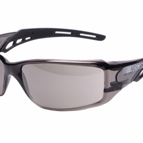NASCAR® Brio™ Black Frame, Gray Lens, ScratchCoat-12BRI1114