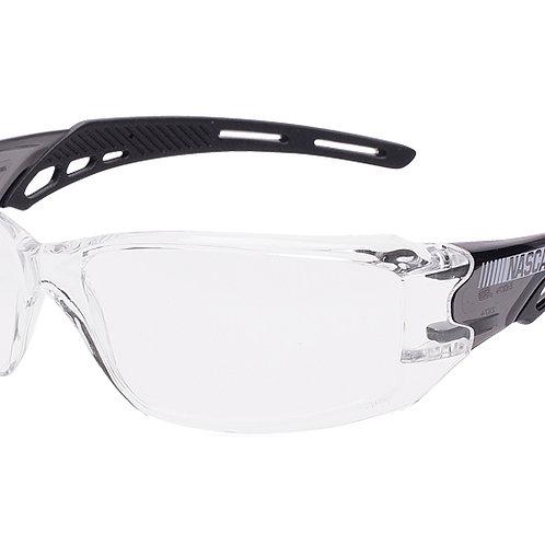 NASCAR® Brio™ Black Frame, Clear Lens, ScratchCoat-12BRI1014