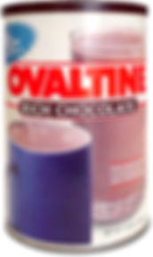 Ovaltine container tin - Rich Chocolate
