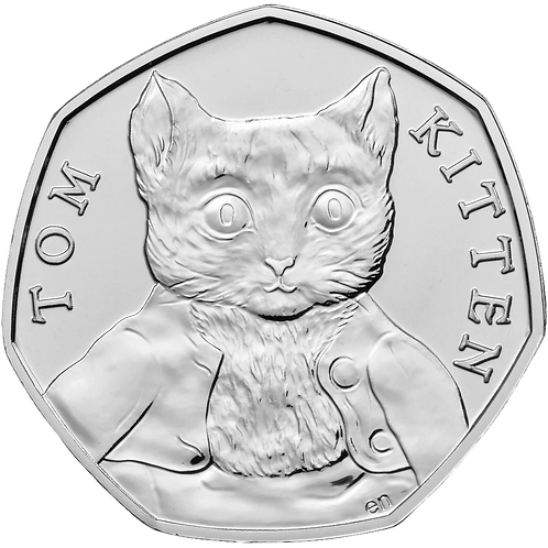 50 Pence Fifty Pence Tom Kitten Beatrix Potter 2017 - UNCIRCULATED