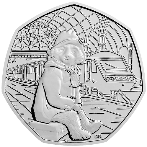 50 Pence Fifty Pence Paddington at the Station 2018 - CIRCULATED