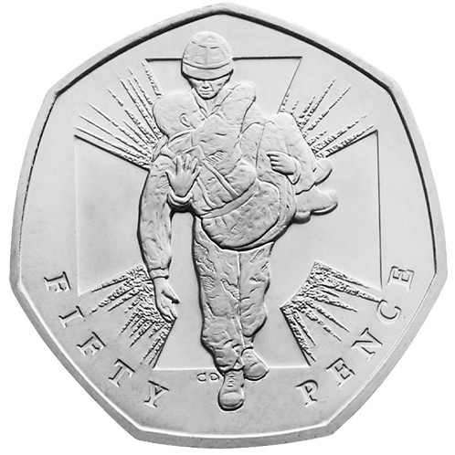 50 Pence Fifty Pence Victoria Cross Soldier 2006 - CIRCULATED