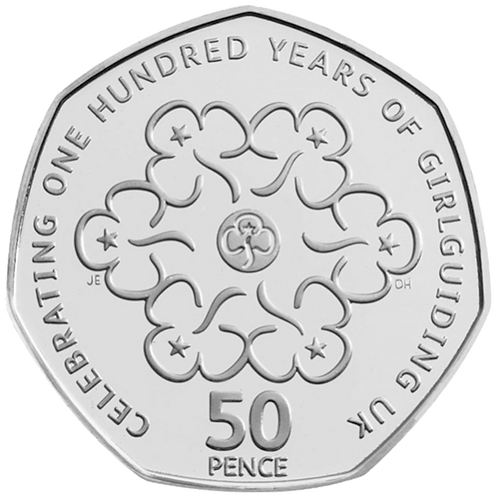 50 Pence Fifty Pence Girlguiding 2010 - CIRCULATED