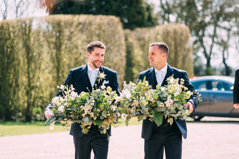 Hyde House wedding florist