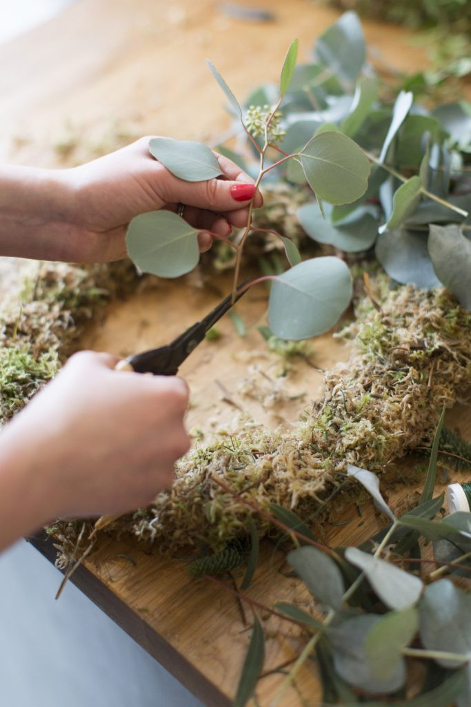 Moss based wreath workshops