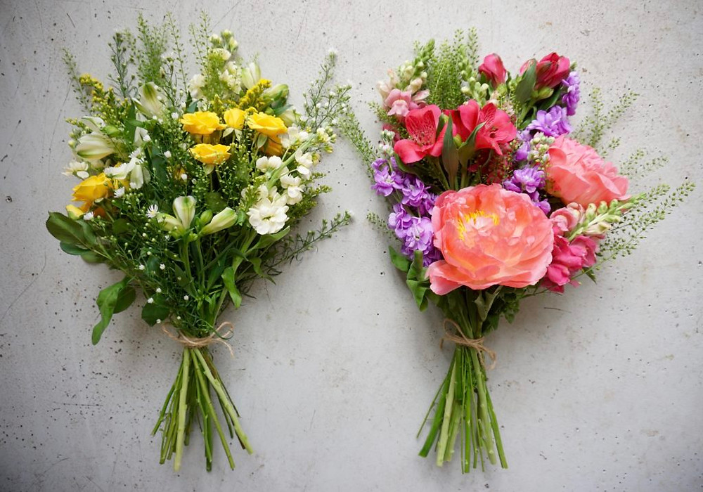 Monthly flower subscription Bristol