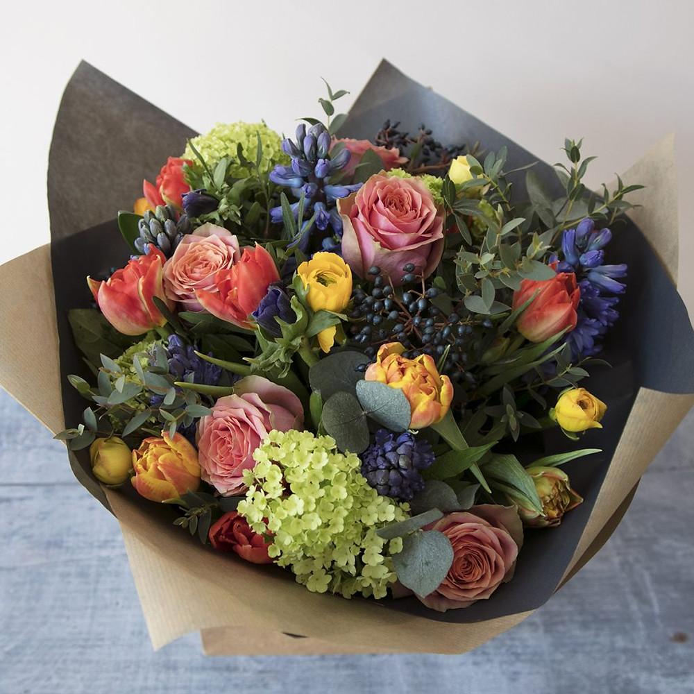 Valentines Day bouquet Bristol