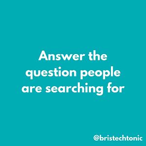 Local SEO Search, SEO Basics, SEO in Bristol