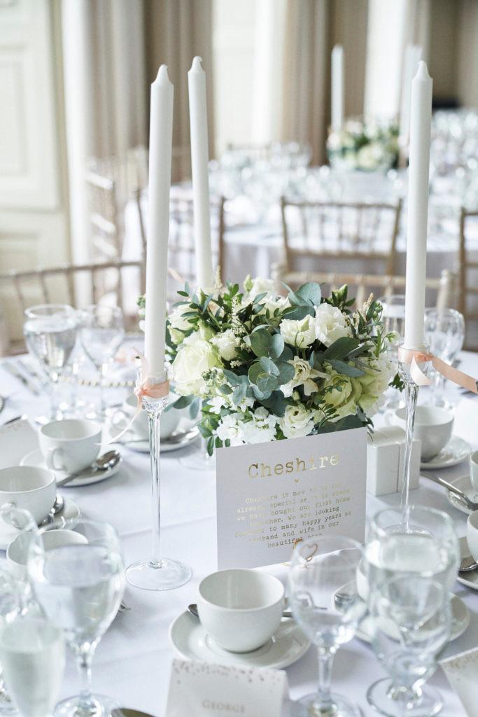 Pynes House wedding reception