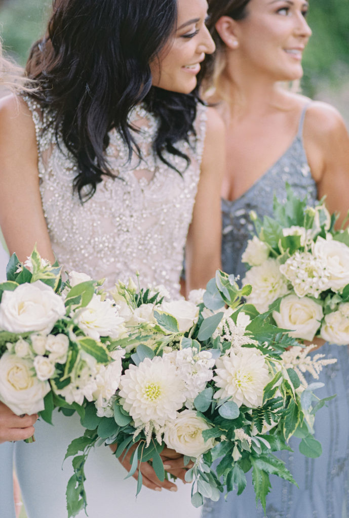 ivory summer flowers at Elmore Court