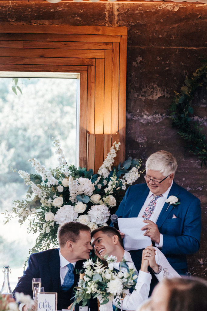 Luxury gay wedding flowers