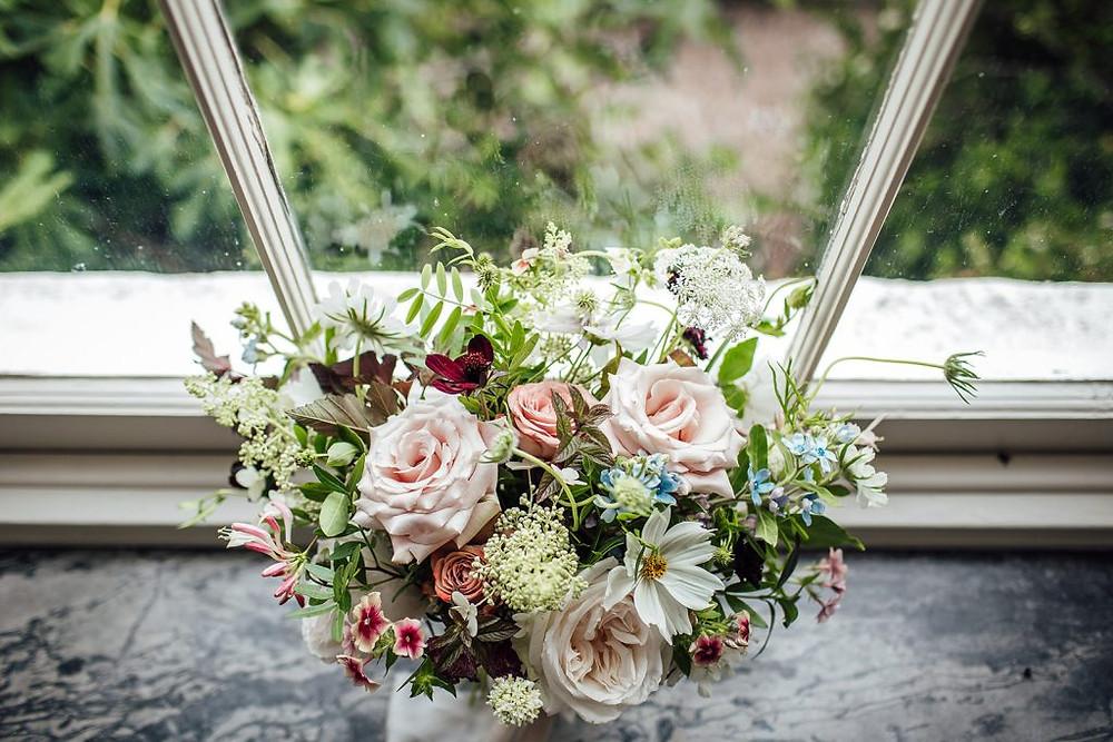 British flowers bridal bouquet