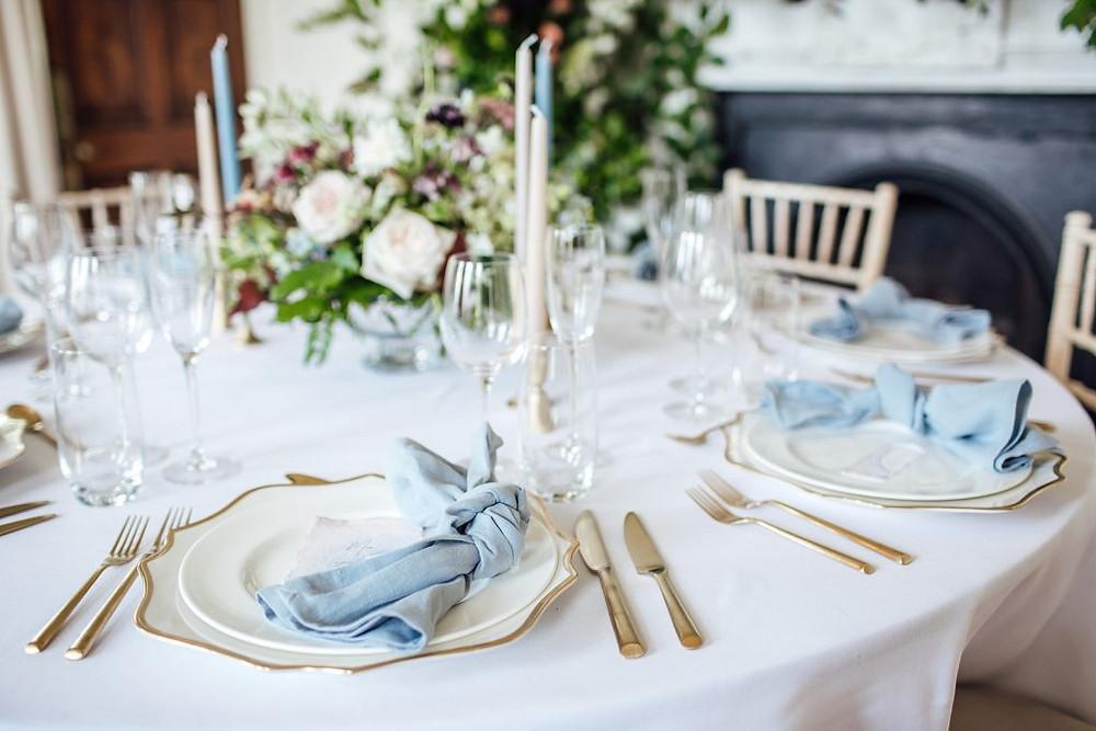 Wedding flower styling