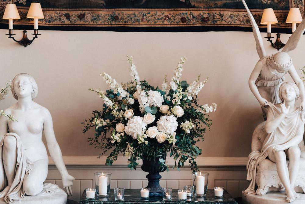 Wedding flower urn