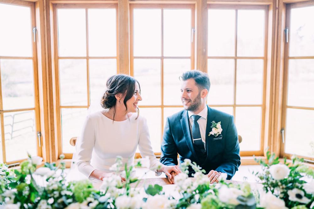 Hyde House wedding flowers