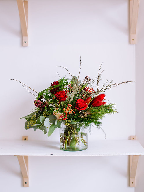 bristol christmas flower delivery bouquets in bristol