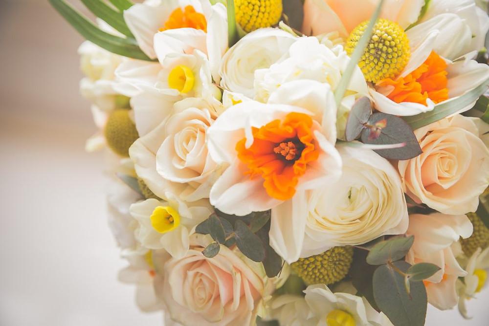 Daffodil bridal bouquet