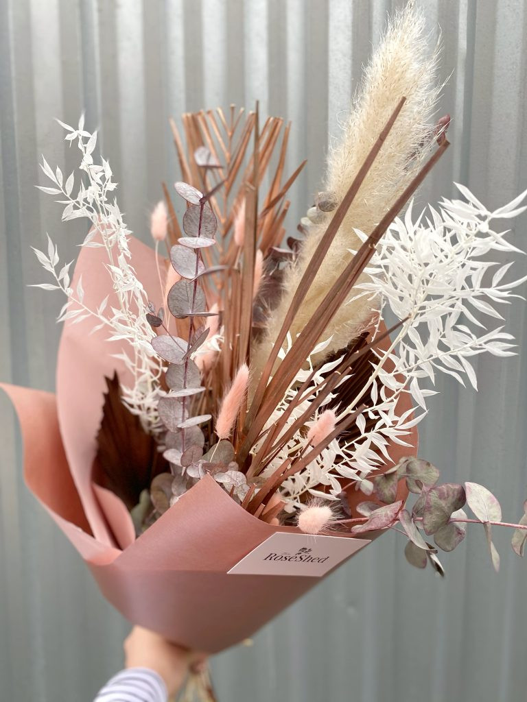 Metallic Dried Bouquets