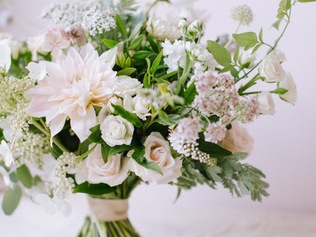Intimate Wedding Flowers Inspiration