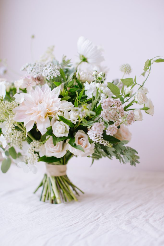 Intimate wedding flowers