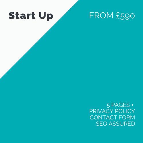 Web Design - Start Up