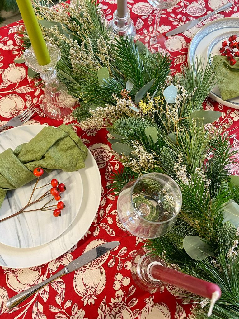 Christmas table styling inspiration